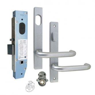 Lockwood Entrance Door Pack 3582 Narrow Mortice Lock w// Kaba Handles